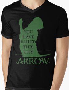 Arrow Hero 2 Mens V-Neck T-Shirt