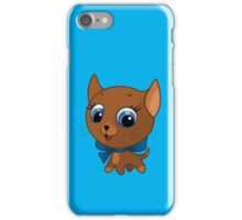 Cute cat vector illustration iPhone Case/Skin