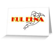 Kul Elna Logo Greeting Card