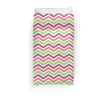 Colourful Zigzag Design Duvet Cover