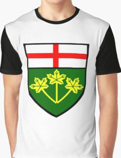 Ontario Shield of Arms Graphic T-Shirt