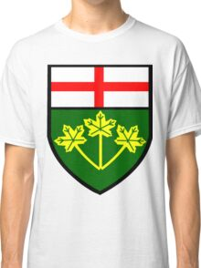 Ontario Shield of Arms Classic T-Shirt