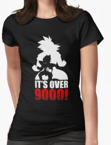 Goku and Vegeta : It's over 9000 Womens Fitted T-Shirt