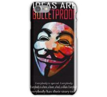 Ideas are BulletProof iPhone Case/Skin