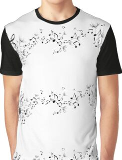 flower notes Graphic T-Shirt