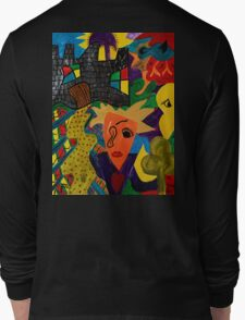Castle Abstract 1999 Long Sleeve T-Shirt