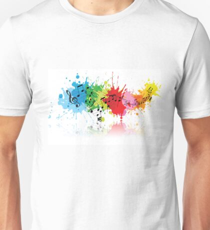 Music Colors Unisex T-Shirt