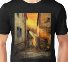 City - Germany - Alley - The farmers wife 1904 Unisex T-Shirt