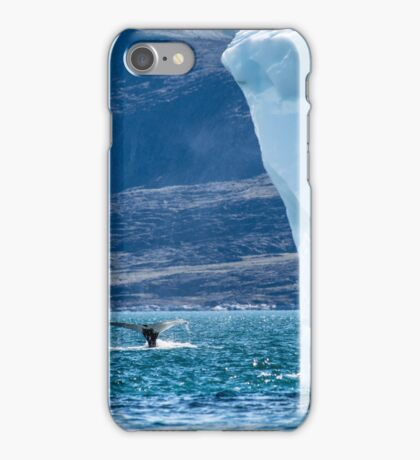 Humpback Whale Tail and Ice iPhone Case/Skin