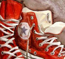 Converse sneakers Sticker