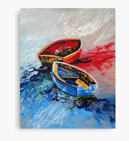 Twins Boat II Canvas Print