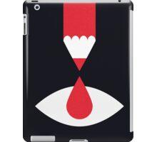 Drawing blood iPad Case/Skin