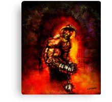 The Devil's Henchman Canvas Print