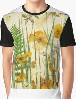 Floral Sunshine 3 Graphic T-Shirt
