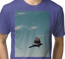 Fly bird , fly  Tri-blend T-Shirt