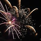 Fireworks abstact 12 2015 by marybedy