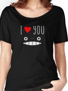 Totoro - I love you Women's Relaxed Fit T-Shirt
