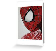 The Amazing Spider Man Greeting Card