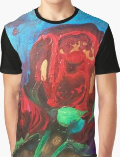 The Tulips Came Early Graphic T-Shirt