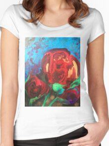 The Tulips Came Early Women's Fitted Scoop T-Shirt
