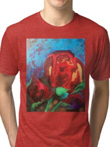 The Tulips Came Early Tri-blend T-Shirt