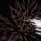 Fireworks abstract 17 2015 by marybedy