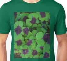 Oxalis Leaves Unisex T-Shirt