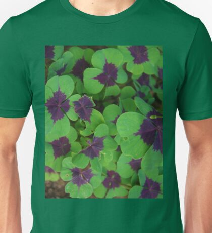 Oxalis Leaves Unisex T-Shirt