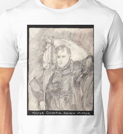 Major General Jackson And His Horse Unisex T-Shirt