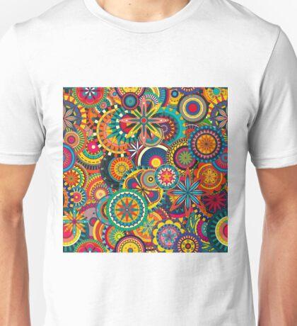 Funky Retro Pattern Unisex T-Shirt