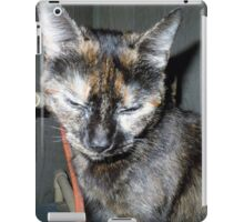 Snickers is getting big and spoiled iPad Case/Skin