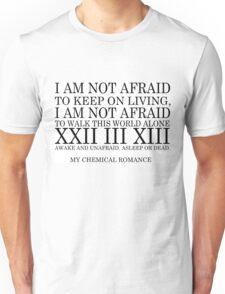 Famous Last Words lyrics Unisex T-Shirt