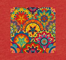 Funky Retro Pattern Mandalas Tri-blend T-Shirt