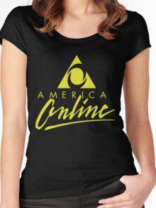AOL shirt Women's Fitted Scoop T-Shirt
