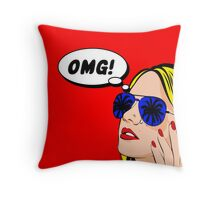 Omg, I need a holiday Throw Pillow