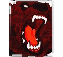 Blood Red Bear Roaring iPad Case/Skin