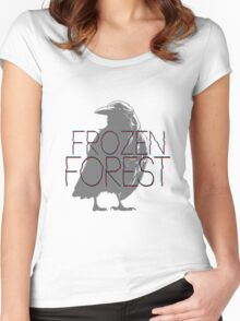 The Frozen Forest Women's Fitted Scoop T-Shirt
