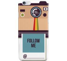 Follow Me on Instagram Self Promotion iPhone Case/Skin