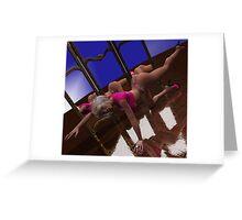 Sexy Yoga 1 Greeting Card