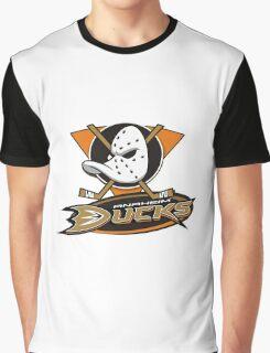 Anaheim Mighty Ducks coklate logo Graphic T-Shirt