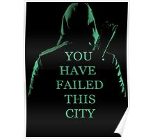 Arrow Quote S1 Poster
