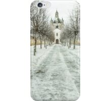 The road to the old monastery iPhone Case/Skin