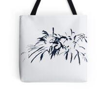 Fireworks Sumi-e Tote Bag
