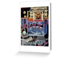 Haunted mansion inspired  Greeting Card