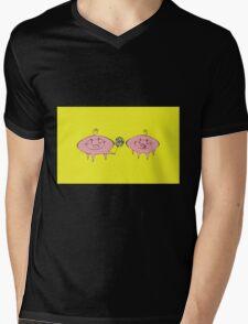 The Giving Pig Mens V-Neck T-Shirt