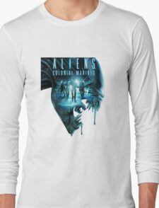 ALIENS COLONIAL MARINES Long Sleeve T-Shirt