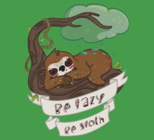 Be lazy Be Sloth ! One Piece - Short Sleeve