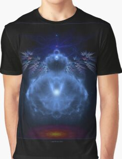 Buddhabrot Fractal Mandelbrot  - Digital Art Graphic T-Shirt