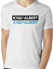 Kyau & Albert double Mens V-Neck T-Shirt