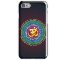 Om presence iPhone Case/Skin